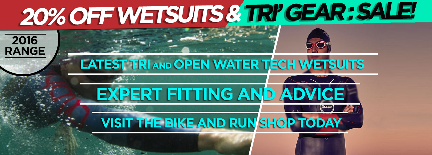 New 2016 Tech Wetsuits In-Stock - Bike and Run East Finchley